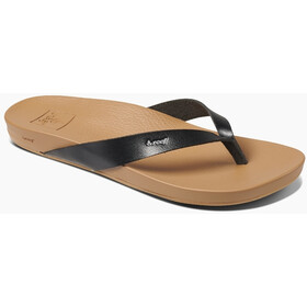 Reef Cushion Bounce Court Teenslippers Dames, black/natural